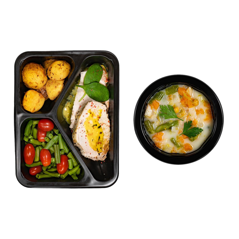Zdrowy obiadek zupa